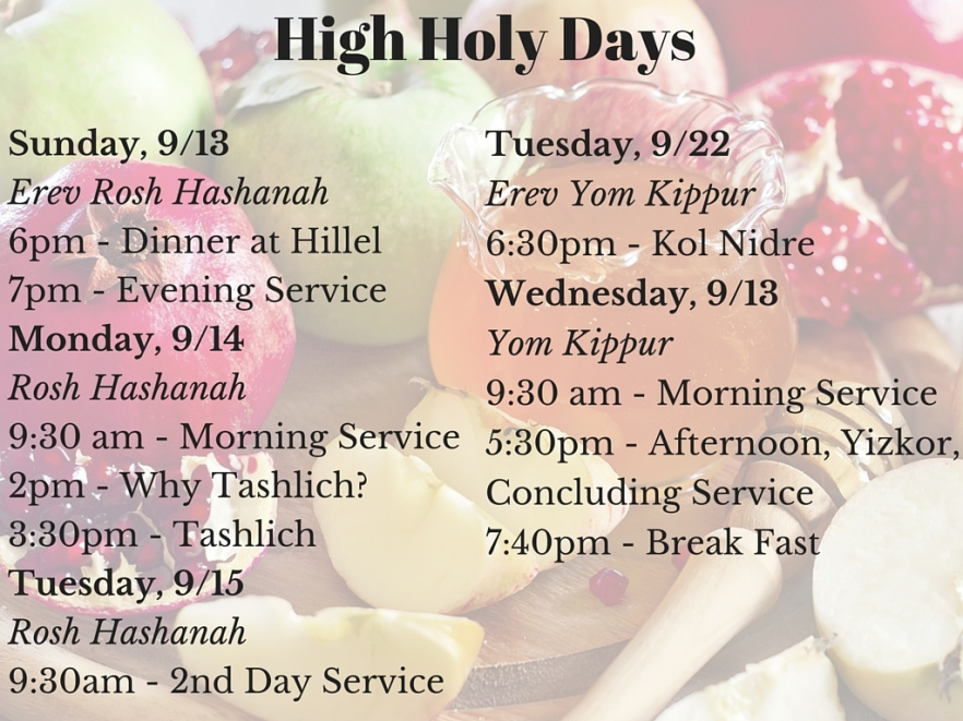 High Holy Days
